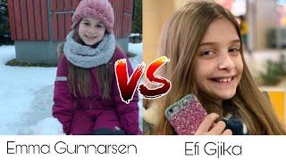 Emma Gunnarsen VS Efi Gjika ~ Tik Tok Battle ♡