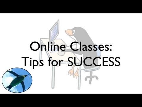 Online Classes: Tips for SUCCESS - YouTube