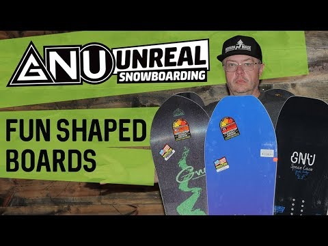 2018 GNU Fun Shaped Snowboards – Overview – TheHouse.com