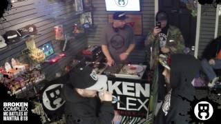 Neon vs  Jay Blaze (Broken Complex MC Battles Jan 2017)