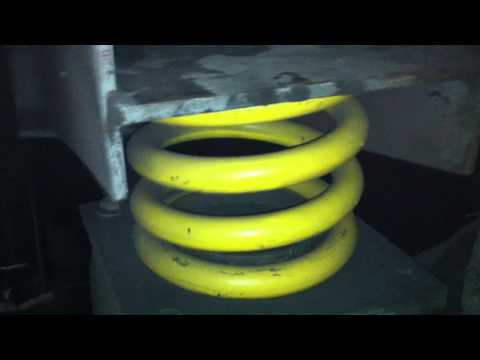 General Kinematics Vibrating Isolation Coil Springs for Vibratory Equipment