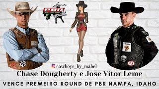 Jose Vitor Leme e Chase Dougherty vencem primeiro round da PBR em Nampa, Idaho