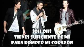 Dance Until Tomorrow - Jonas Brothers (en español)(sin modificación de audio)