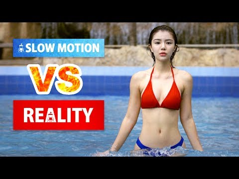 The Power of SLOW MOTION (Baywatch Parody)