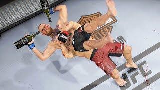 уУУУ КОНОРА МАКГРЕГОРА НОВЫЙ ГОД в UFC 3 МИРОВОЙ TOP 5 RANKED