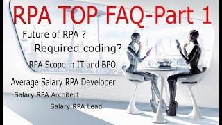 RPAtopFAQansweredRoboticProcessAutomation-Part1