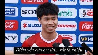 Cười bể bụng với câu trả lời của Công Phượng, HLV Park và cầu thủ ĐTVN
