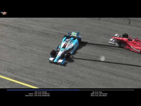 rFactor 2 IndyCar Phoenix Round 2 80% Difficulty