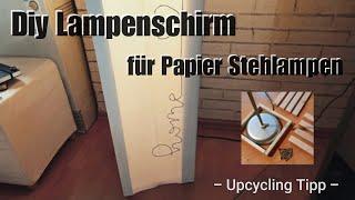 Diy Lampenschirm | Stehlampen Upcycling | IKEA Hack