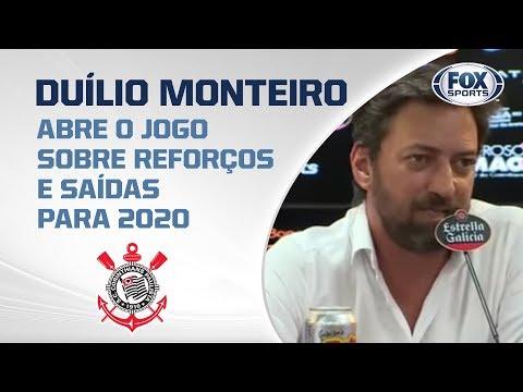 CORINTHIANS AO VIVO! Duílio Monteiro fala ao vivo direto do CT Joaquim Grava