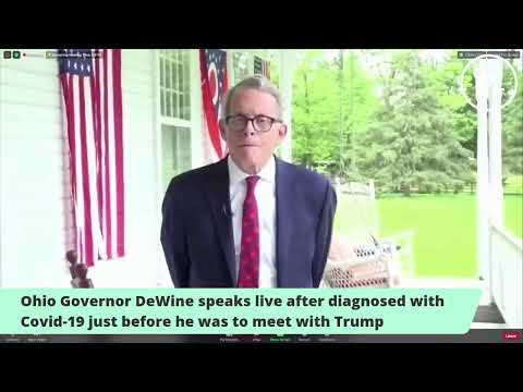 CORONAVIRUS: Ohio Gov. Mike DeWine Says He's Tested Positive Right Before He Was to Meet with Trump