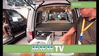 MMM TV Motorhome Review: Reimo Active Campervan Conversion Kit