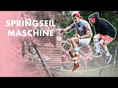 SpringseilMASCHINE - der lustigste Schulhofroboter der Welt