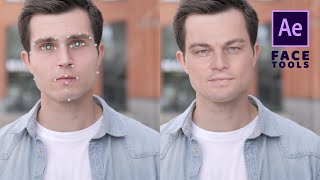 Face replacement in video using a still image and Face Tools - After Effects tutorial