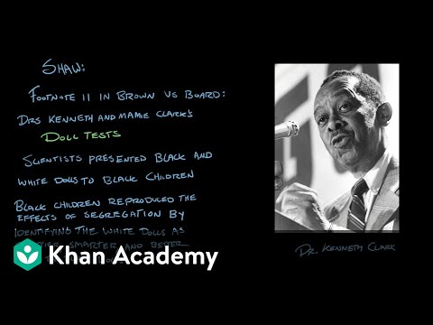 Brown v. Board of Education of Topeka | US Government and Politics | Khan Academy