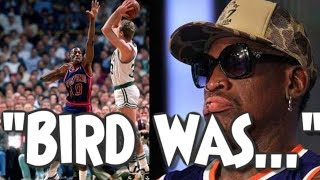 Dennis Rodman On Getting Schooled By Larry Bird, Beating Up Jordan And More