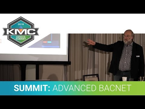 2018 KMC Genius Summit: KMC Commander Advanced BACnet Networks/Wireless