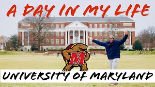 A Day In My Life at University of Maryland | UMD