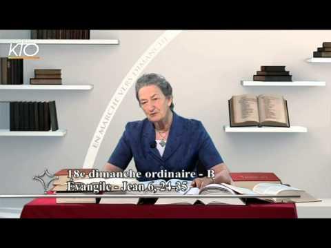 18e dimanche ordinaire B - Évangile