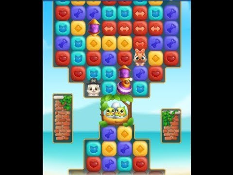 Frothy Waterfall: Pet Rescue Puzzle Saga Levels 211-230