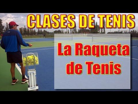 Clase de Tenis: ¿Cómo elegir la raqueta?