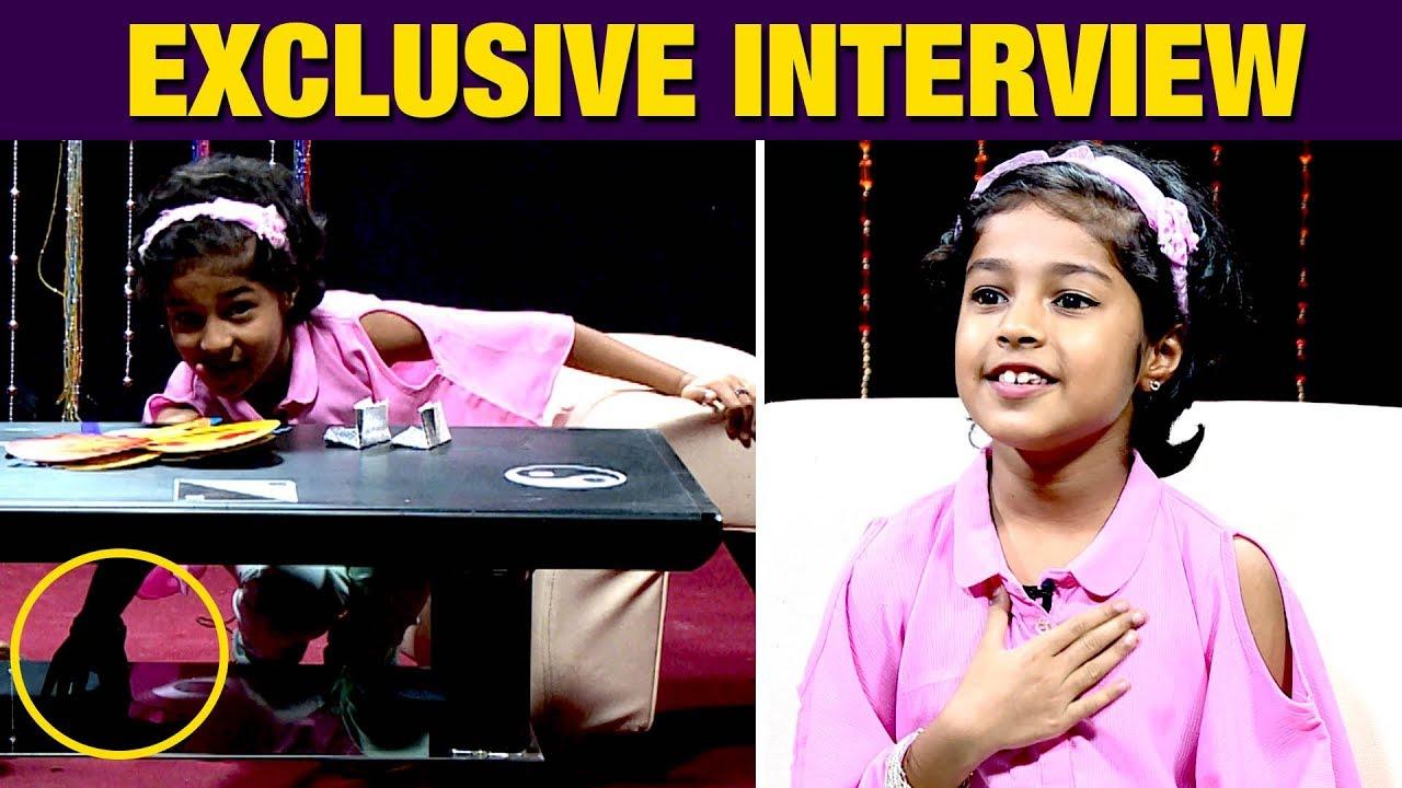Simbu Uncle நானும் Same | Cute Baby Krithika Interview | Mouna Ragam Shakthi