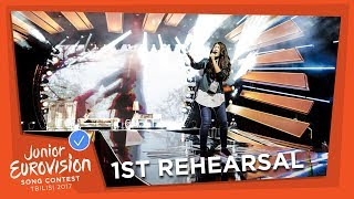 JESC 2017 | Day 2: first rehearsals - part 2