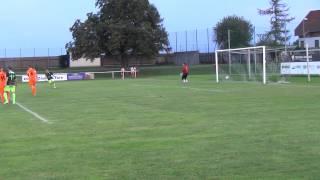 preview picture of video 'Tor für Trausdorf durch Stefan Hombauer. Neuer Zwischenstand: 2:2'