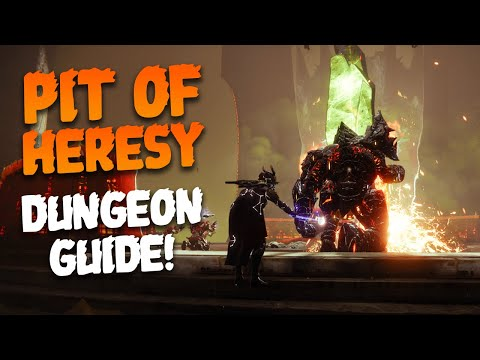 Destiny 2: Pit of Heresy Dungeon - All Encounters & Secret Chests Guide