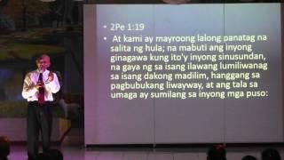 preview picture of video 'Daniel & Revelation Seminar 01 - Overview - Jun Lumingkit [tagalog sermon]'