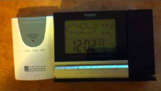 Oregon scientific clock fails to sync
