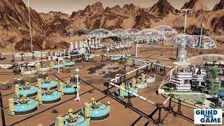 I BROKE THE GAME? - Surviving Mars - 5000 Population - 25 Domes - Sol 600 [4k]