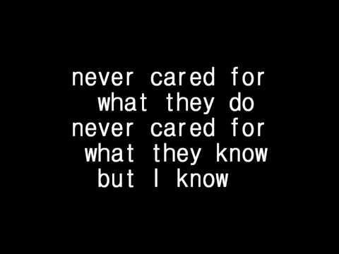 Metallica - Nothing else matter lyrics