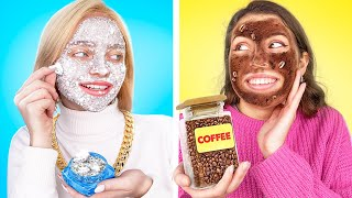 Rich vs Poor Beauty Routine