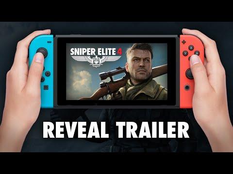 Trailer d'annonce pour Sniper Elite 4 sur Nintendo Switch  de Sniper Elite 4