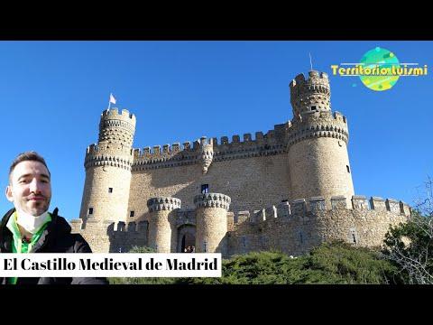 Conoce El Castillo Medieval De Madrid  - Castillo Manzanares El Real