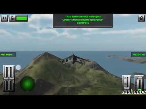 F18 Jet Flight simulator 3D обзор игры андроид game rewiew android.