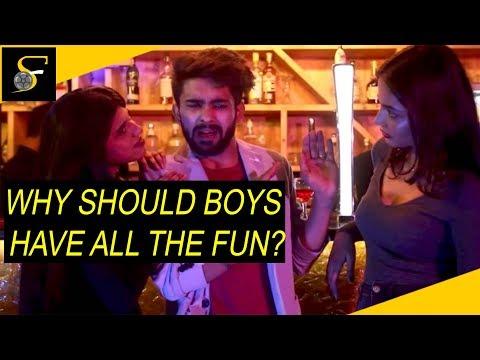 Why should boys have always fun? - Hindi short film