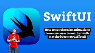 How to synchronize animations from one view to another with matchedGeometryEffect() – SwiftUI
