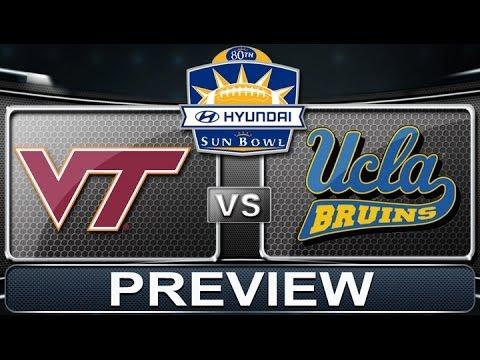 Hyundai Sun Bowl Preview | Virginia Tech vs UCLA