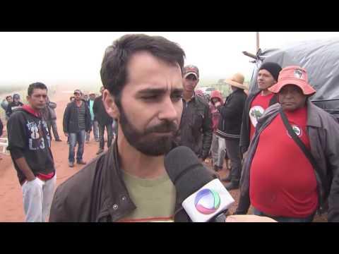 Integrantes do MST ocupam fazenda em Alvinlândia