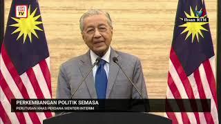 Perutusan khas oleh Perdana Menteri Interim Tun Dr Mahathir Mohamad