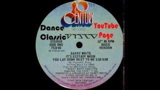Barry White - It's Ecstasy When You Lay Down Next To Me (Disco Version)