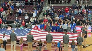 National Anthem Bayhawks