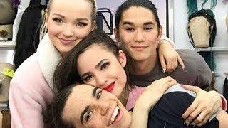 Sofia Carson Says GOODBYE To Evie as Descendants 3 Cast Wraps Filming