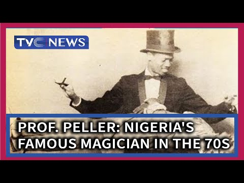 Professor Peller: Nigeria's most famous Magician in the 70s