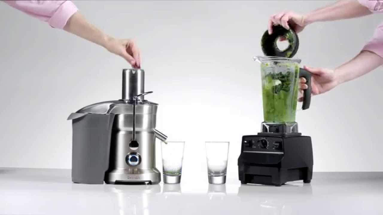 Juicing vs. Blending which has a higher conce
