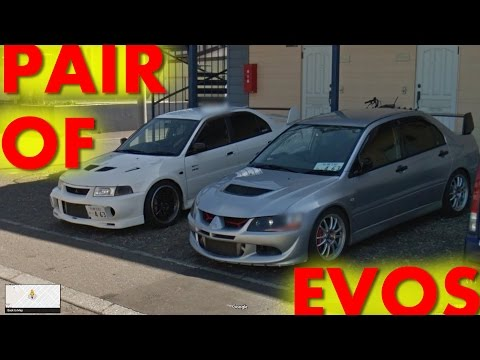 [JDM Street View] Pair Of EVOs And A JZX90 Cresta