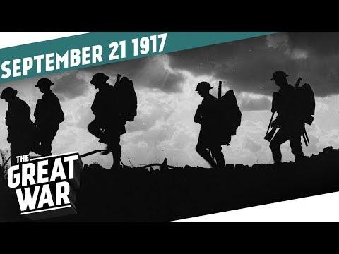 Britský postup u Passchendaele - Velká válka
