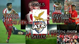 Amar BUKE ATK and FATAFATI FOOTBALL songs with goals and skills by RONIT GHOSH FROM GADGETS HOUSE